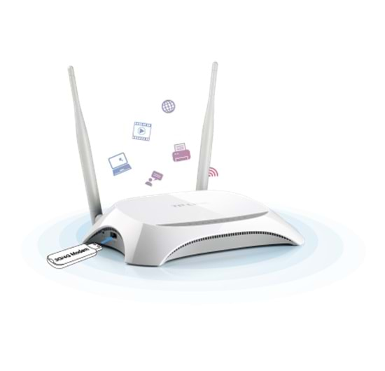 TP-LINK TL-MR3420 3G 4P 300Mbps Wireless N Router