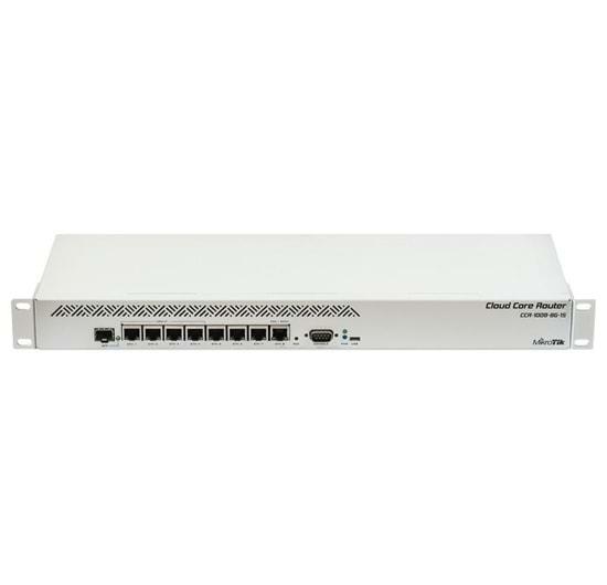 Mikrotik CCR1009-8G-1S Cloud Core Router 1009-8G-1S (RouterOS L6)